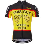 Over 50% off 21Grams Men's Short Sleeve Cycling Jersey Black