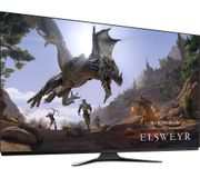 *SAVE £600* ALIENWARE 4K Ultra HD 55 OLED Gaming Monitor - Lunar White