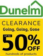 DUNELM CLEARANCE - up to 50% OFF