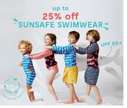 Up to 25% off UV Swimwear