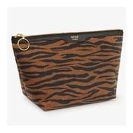 Tiger Print Makeup Bag
