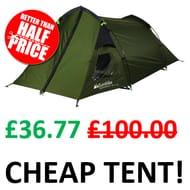 CHEAP TENT! Eurohike Backpacker DLX 2 Man Tent
