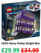 LEGO HARRY POTTER - Knight Bus (75957) save £5 + Free Delivery