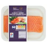 Lightly Smoked Scottish Salmon Fillets