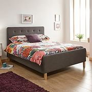 Fabric Ottoman Bed Frame - King Size