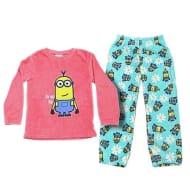 Kids Minion Fleece Pyjamas (4-5 /6-7 Years)