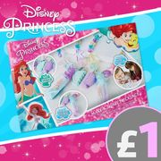 Disney Princess Little Mermaid Ariel Make & Share Necklace