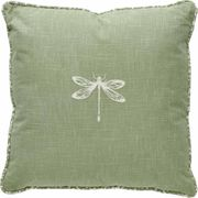 Wilko Green Dragonfly Cushion 43 X 43cm