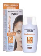 ISDIN Fusion Water SPF 50 50ml | Daily Facial Sun Cream | Ultra-Light Texture