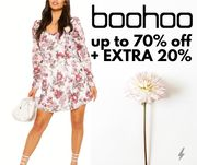 boohoo - Up To 70% Off Summer Sale + Extra 20% Off With Code!