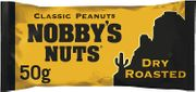 Nobby's Nuts Dry Roasted / Salted 50g Packs - 39p or 3 for £1 at B&M
