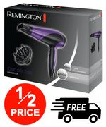 Remington D3190 Ionic Conditioning Hair Dryer for Frizz Free Styling