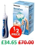 HALF PRICE AT AMAZON! Panasonic Rechargeable Dental Oral Irrigator