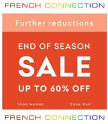French Connection Sale - Further Reductions - Now up to 60% Off