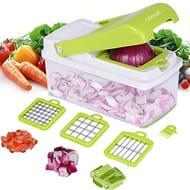 Vegetable Chopper, Adoric Food Slicer Dicer