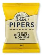 5 X Piper Bags of Crisps 40g (Various Flavours) 67%off Heron Foods