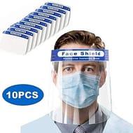 10Pcs Safety Face Shield