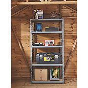 Great Value Product HEAVY DUTY SHELVING 900 X 450 X 1800MM