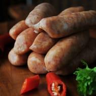 Thai Pork Sizzler Sausage Prices From £2.38 - Was £3.39 (3 Sizes)