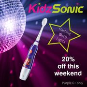 20% off Our Purple KidzSonic This Weekend save £2.60