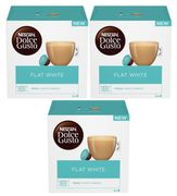 48 NESCAFE Dolce Gusto Flat White Coffee Pods