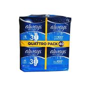 Always Ultra Night Sanitary Towels with Wings 40 Pads Super Absorbent