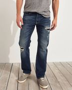 Hollister Epic Flex Classic Straight Jeans- MEN