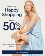 GAP - up to 50% off is Here! No Code Needed