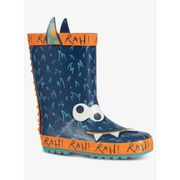 Blue & Orange Monster Wellies Click & Collect