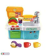 LeapFrog Scrub & Play Toy Sink Toy, Play Kitchen