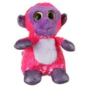 Sequin Glitzies Pink Monkey
