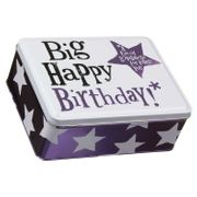 Happy Birthday Keepsake Tin
