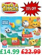 Mega Bloks Peek-a-Block Amusement Park Playset