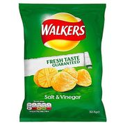 SUNDAY SPECIAL Walkers Salt and Vinegar Crisps