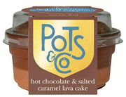 Pots & Co Hot Chocolate & Salted Caramel Lava Cake 100g & other Varieties below