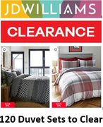 120 Duvet Sets to Clear! DUVET CLEARANCE DEALS from £6.50!