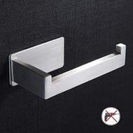 Self Adhesive Toilet Roll Holder - Stainless Steel Toilet Paper Holder