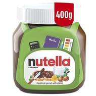 Nutella Hazelnut Spread with Cocoa, 400 G