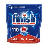 Finish Dishwasher Tablets All in 1 Max Original, 110 Tabs