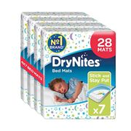 Huggies DryNites Disposable Bed Mats, Mattress Protector