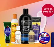 Save 15% When You Spend £15 on Selected Hair Products