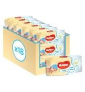 Huggies Pure Baby Wipes Multipack, 18x56 = 1008 Wipes