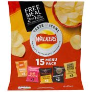 Walkers Taste Icons Crisps 15pk