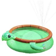 Chad Valley 6ft Turtle Quick up Kids Paddling Pool - 757L Only £25