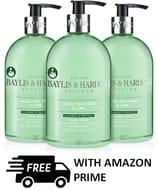 3x Baylis & Harding Aloe/Tea Tree/Lime ANTI BACTERIAL Hand Wash