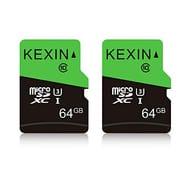 KEXIN 64GB 2Pack Micro SD Card MicroSDXS Memory Card