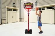Adjustable Kids Basketball Hoop & Ball