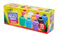 HALF PRICE! Crayola Washable Kids Paint, Pack of 10