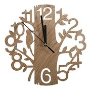 Cut Out Wood Clock with FREE Delivery
