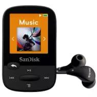 *SAVE £9* SanDisk 8GB Clip Sport MP3 Player - Black